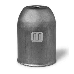 Bicchierino Copriportalampada In Metallo Colore Grigio Ferro
