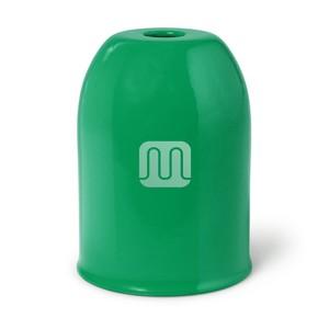 Bicchierino Copriportalampada In Metallo Verde