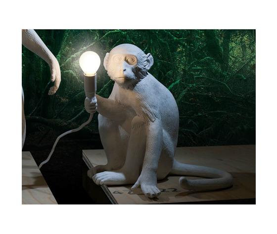 Lampada da tavolo monkey lamp seletti 23160
