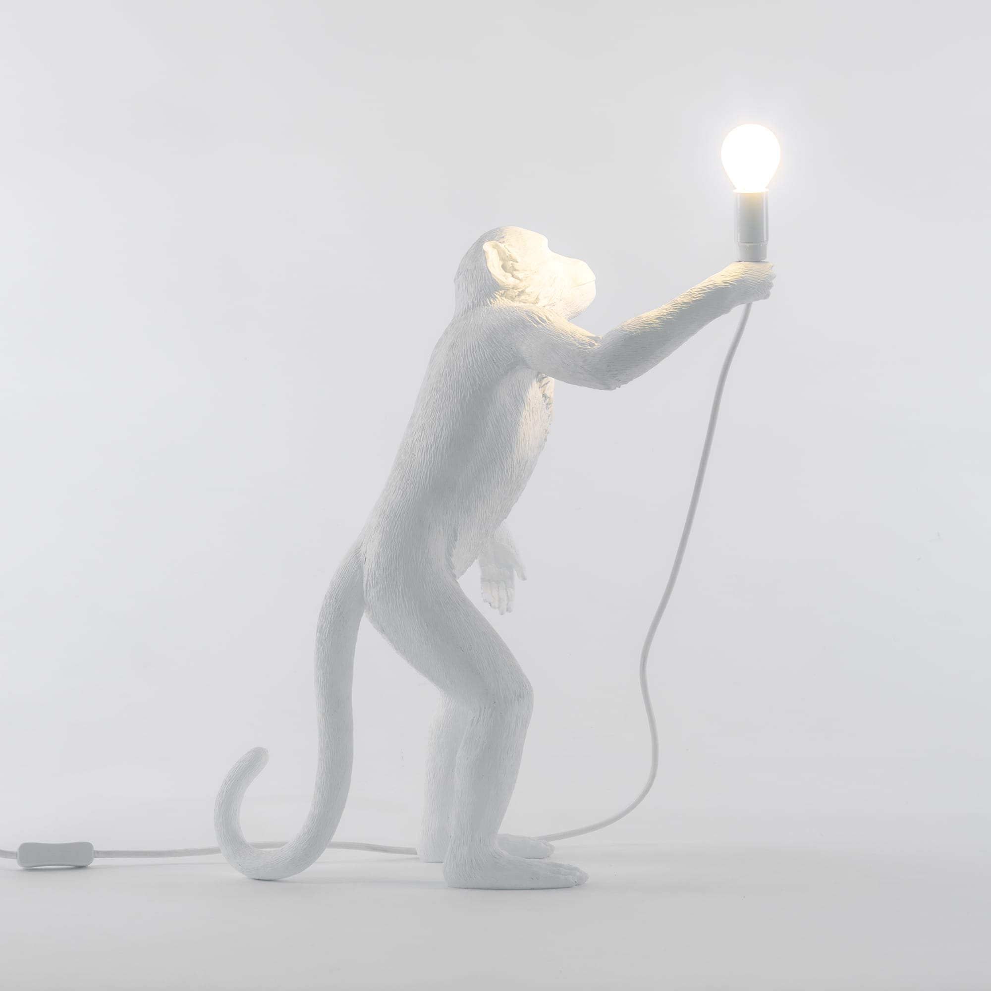 Lampada Scimmia Monkey Lamp Standing Design Seletti Metoo Design