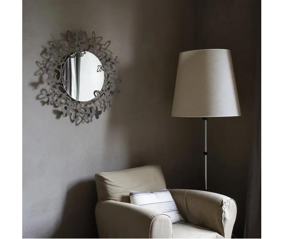 Specchio butterfly farfalle parete artiemestieri