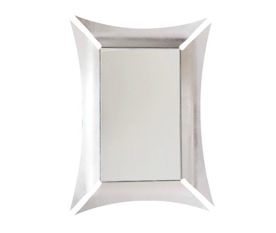 Specchio morgana parete argento