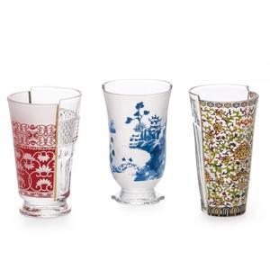 Set da 3 Pz di Bicchieri Hybrid Clarice Marca Seletti