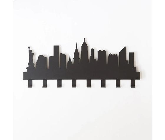 Appendiabiti muro arti e mestieri new york