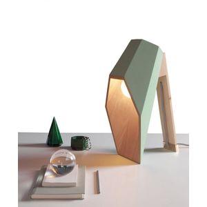 Lampada da Tavolo WoodSpot Green Design Seletti