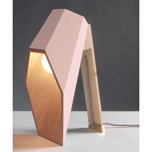 Lampada da Tavolo WoodSpot Pink Design Seletti