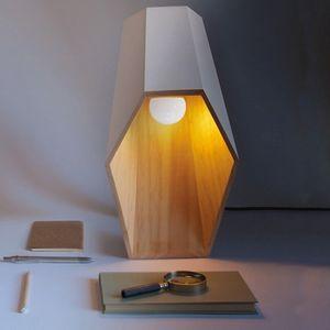 Lampada da Tavolo WoodSpot White Design Seletti