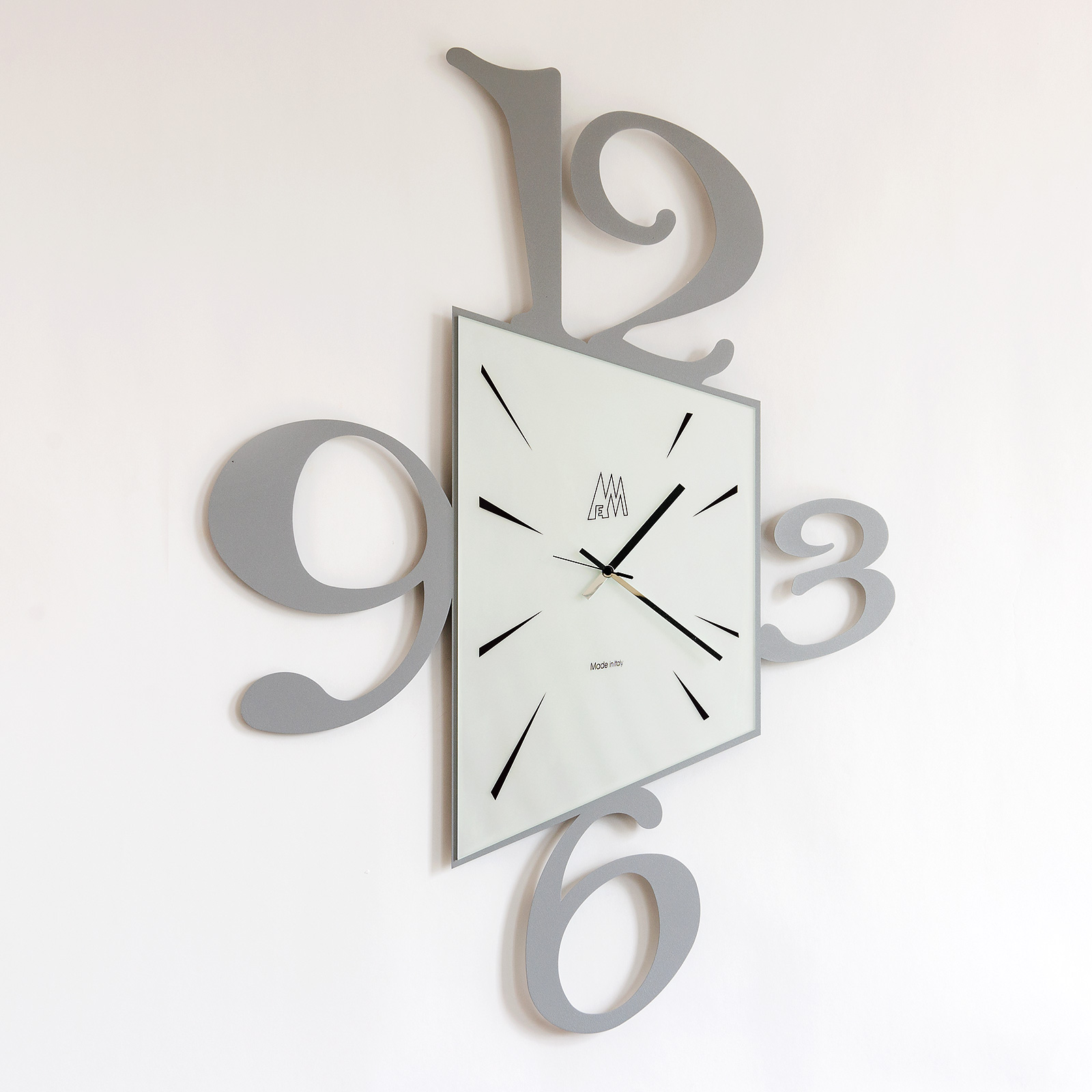 Orologio Da Parete Design Arti E Mestieri Big Prospettiva Metoo Design