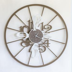 Orologio da Parete in ferro moderno Mod. Kalesy , Marca Arti e Mestieri