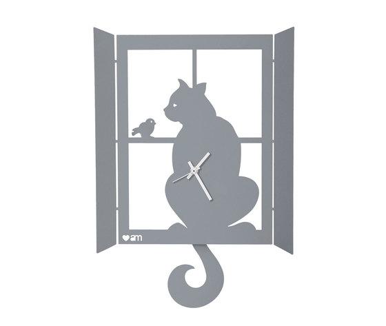 Orologio gatto alla finestra 11008 c70