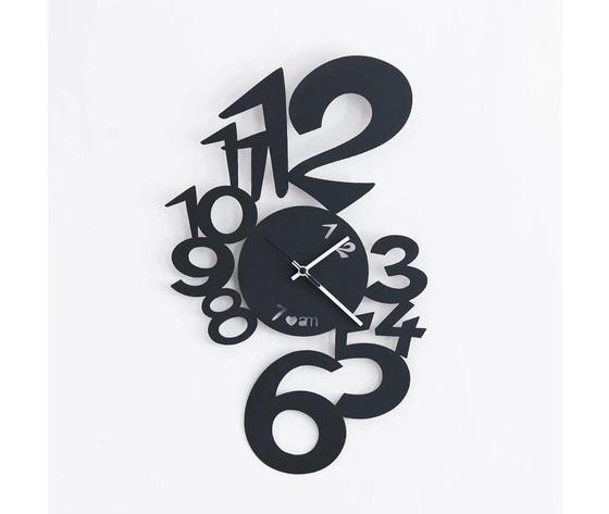 Orologio moderno lupin nero