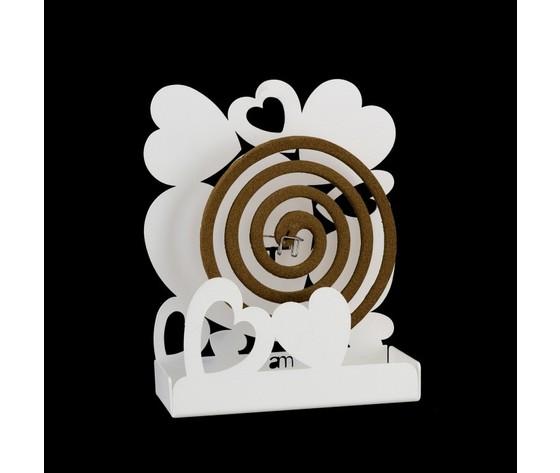 Arti E Mestieri Porta Zampironi.Porta Zampironi Da Tavolo Mod Cuore Marca Arti E Mestieri Metoo Design
