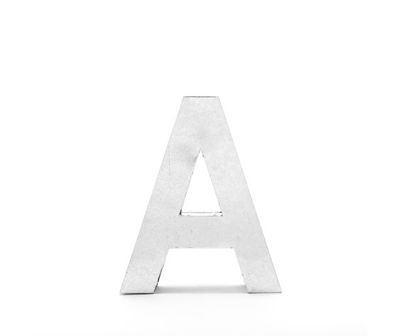 Seletti objects metalvetica alphabet hanging typefaces 01410 a 2