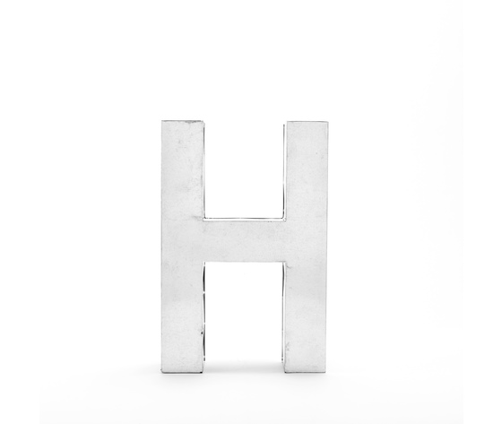 Seletti objects metalvetica alphabet hanging typefaces 01410 h 3