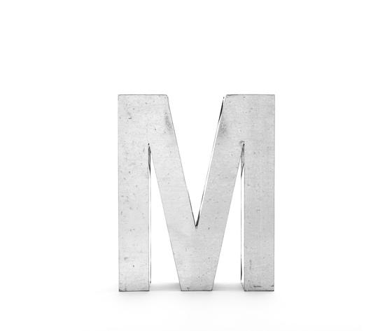 Seletti objects metalvetica alphabet hanging typefaces 01410 m1
