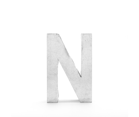 Seletti objects metalvetica alphabet hanging typefaces 01410 n 1