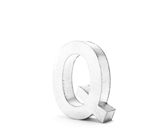 Seletti objects metalvetica alphabet hanging typefaces 01410 q 4