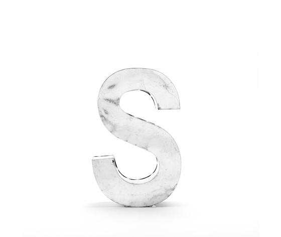 Seletti objects metalvetica alphabet hanging typefaces 01410 s 1