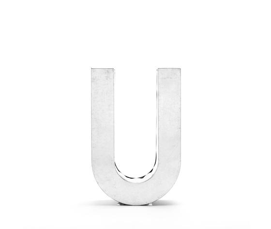 Seletti objects metalvetica alphabet hanging typefaces 01410 u 2