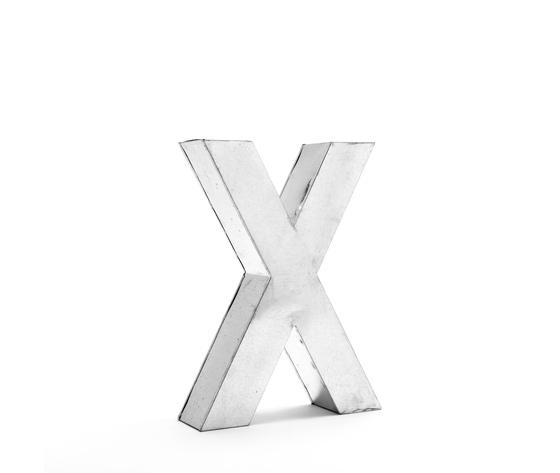 Seletti objects metalvetica alphabet hanging typefaces 01410 x 4