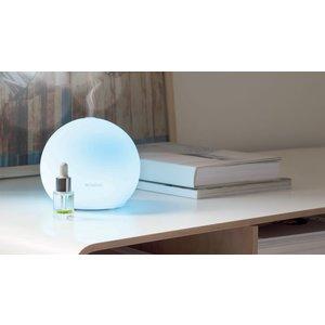 Diffusore Elettrico ad Ultrasuoni in vetro  Mod.Sfera, Millefiori Milano