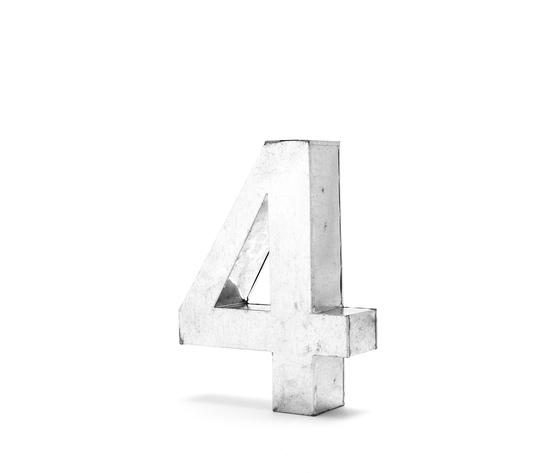 Seletti objects metalvetica alphabet hanging typefaces 01410 4 4