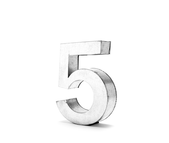 Seletti objects metalvetica alphabet hanging typefaces 01410 5 3