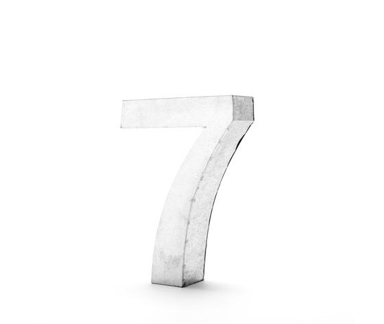 Seletti objects metalvetica alphabet hanging typefaces 01410 7 3