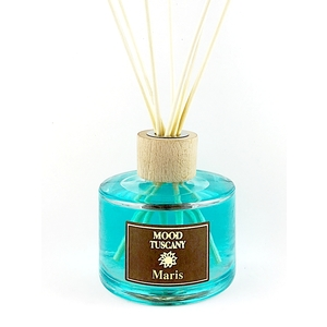 Diffusore per Ambiente  con Bastoncini capacità 250 Ml fragranza Maris, Mood Tuscany