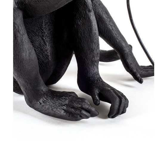 Seletti lighting monkeylamps black 14922 7