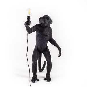 Lampada da Tavolo scimmia Monkey Lamp Black Standing ,  Marca Seletti