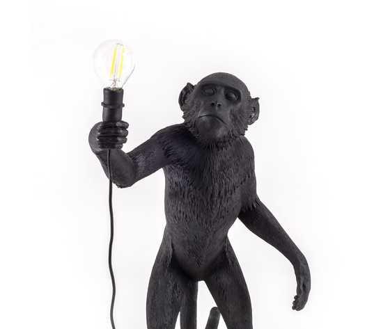 Seletti lighting monkeylamps black 14920 10