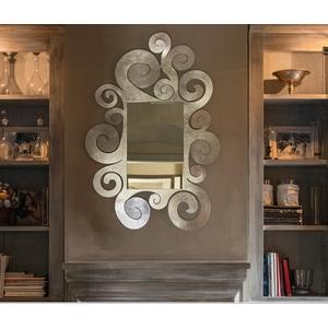 Specchio da parete Temple ,design Arti e Mestieri