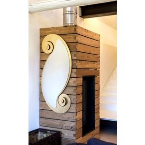 Specchio da parete Modello Circe Ovale , Marca Arti e mestieri