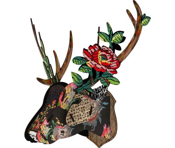 Trofeo Ecologico Da Parete Join The Club con Rose Design Miho