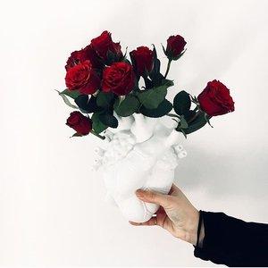Vaso In POrcellana LOve In Bloom Design Seletti