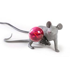Lampada Mouse Lamp in Resa Grigio Mod. Steso Seletti