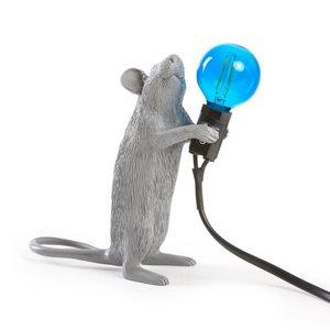 Offerta Mouse Lamp Standing Grigio Seletti