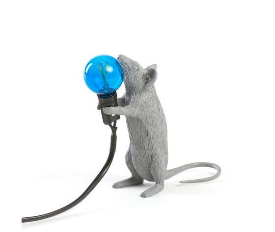 Seletti marcantonio mouse lamp grey 14938 1 800x800