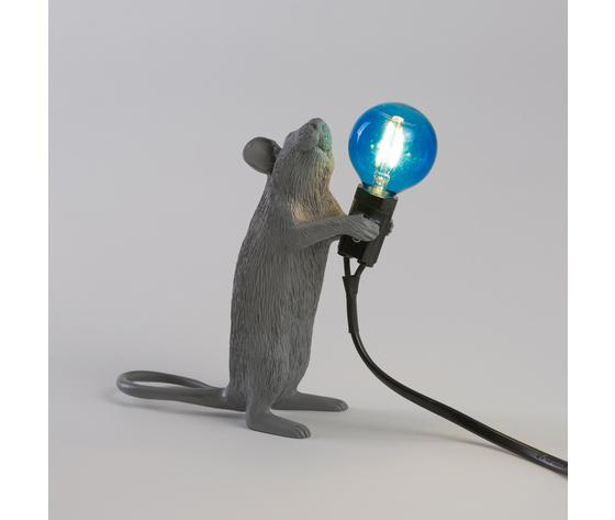 Seletti marcantonio mouse lamp grey 149383