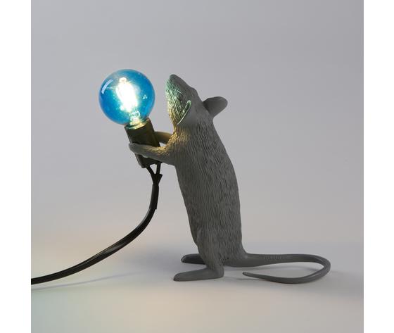 Seletti marcantonio mouse lamp grey 14938