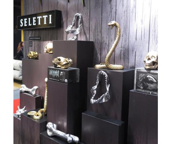 Wunderkammer serpente cobra seletti diesel