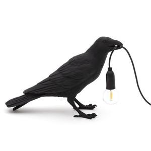 Lampada da Tavolo Bird Lamp , Waiting Black marca Seletti