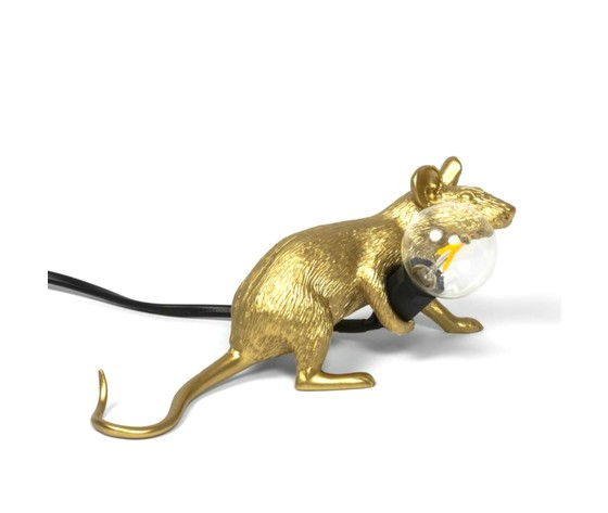Mouselamp gold steso