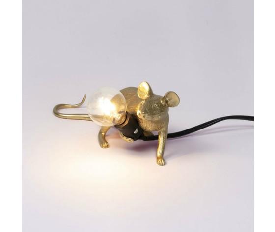 Mouse gold steso oro filo nero