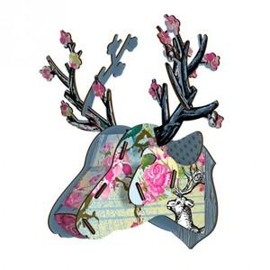 Trofeo Decorativo Cervo Blossom Miho