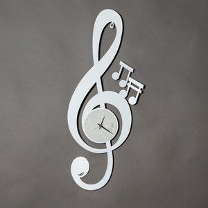 Orologio da parete strano: Chiave Musicale