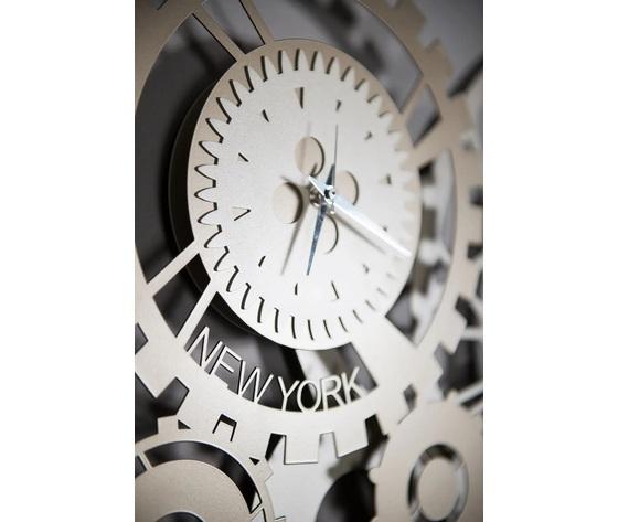 Orologio parete artiemestieri ingranaggi metallo