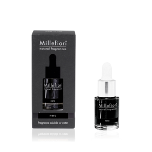 Fragranza Idrosolubile Da 15Ml Nero, Marca Millefiori Milano