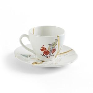 Tazza da Caffè in Porcellana Kintsugi #1 Marca Seletti